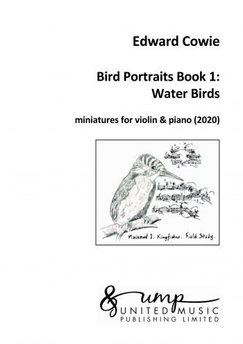 COWIE, Edward: Bird Portraits Book 1: Water Birds