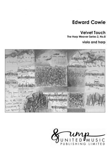 COWIE, Edward : Velvet Touch (viola & harp)