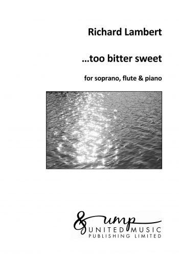 LAMBERT, Richard : …too bitter sweet
