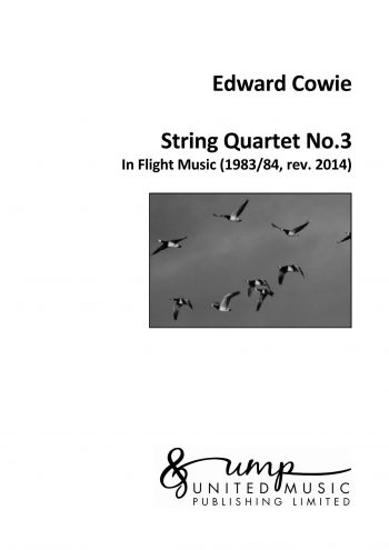 COWIE, Edward : String Quartet No.3